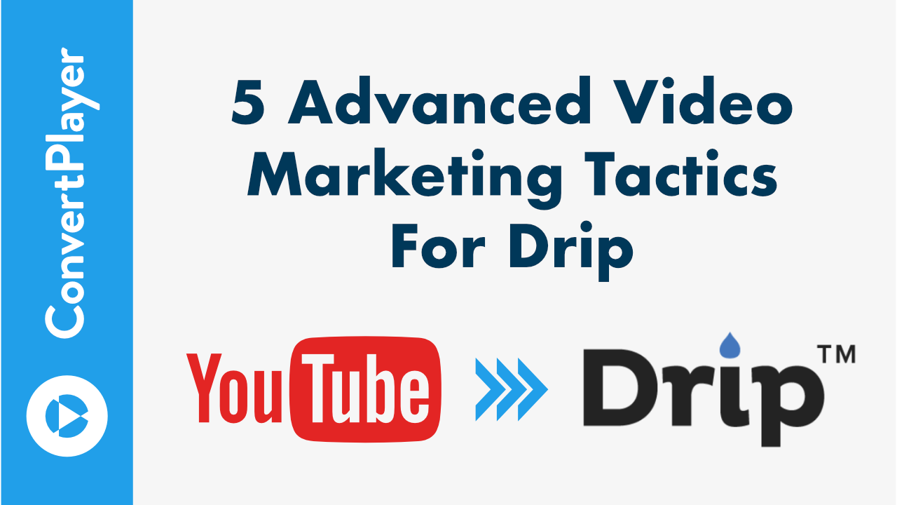 Drip + ConvertPlayer: How to Turn Any Video into a Highly Effective Opt-in Form